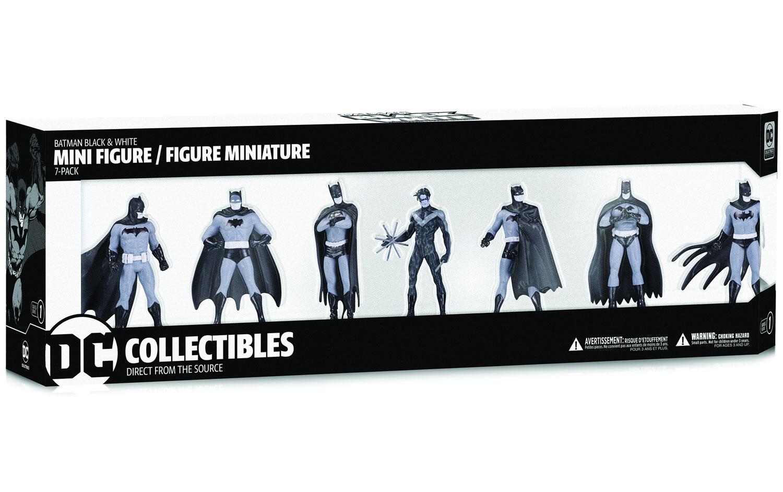 Batman Black & White Mini-Figure Series 1  - DC Comics