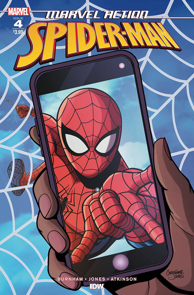 Image: Marvel Action: Spider-Man #4 (Jones cover) - IDW Publishing
