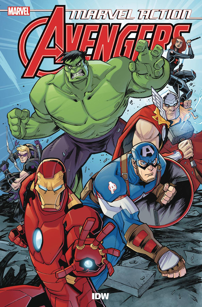 Image: Marvel Action Avengers Book 01: New Danger SC  - IDW Publishing
