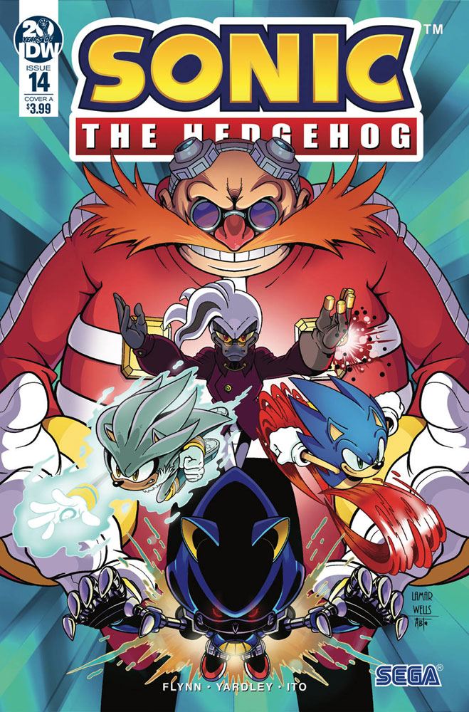 Image: Sonic the Hedgehog #14 (cover A - Wells) - IDW Publishing