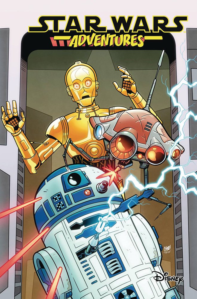 Image: Star Wars Adventures Vol. 05: Mechanical Mayhem SC  - IDW Publishing
