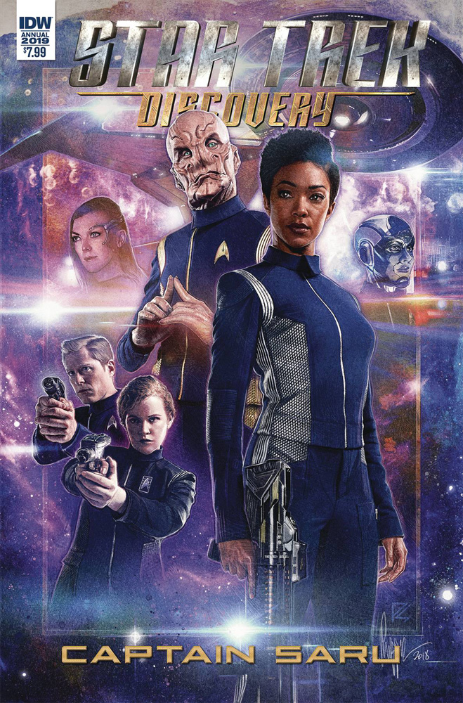 Image: Star Trek: Discovery: Captain Saru  - IDW Publishing