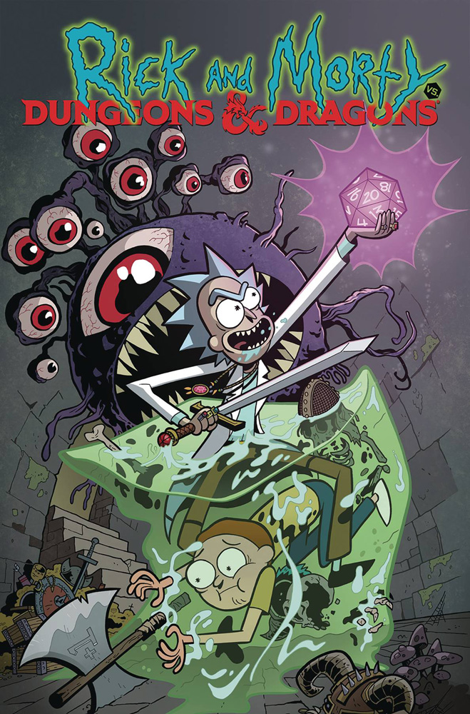 Image: Rick and Morty vs. Dungeons & Dragons SC  - IDW Publishing