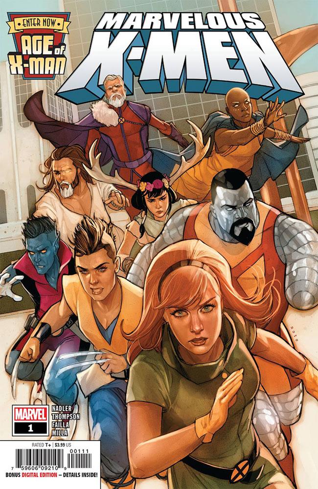 Age of X-Man: The Marvelous X-Men #1