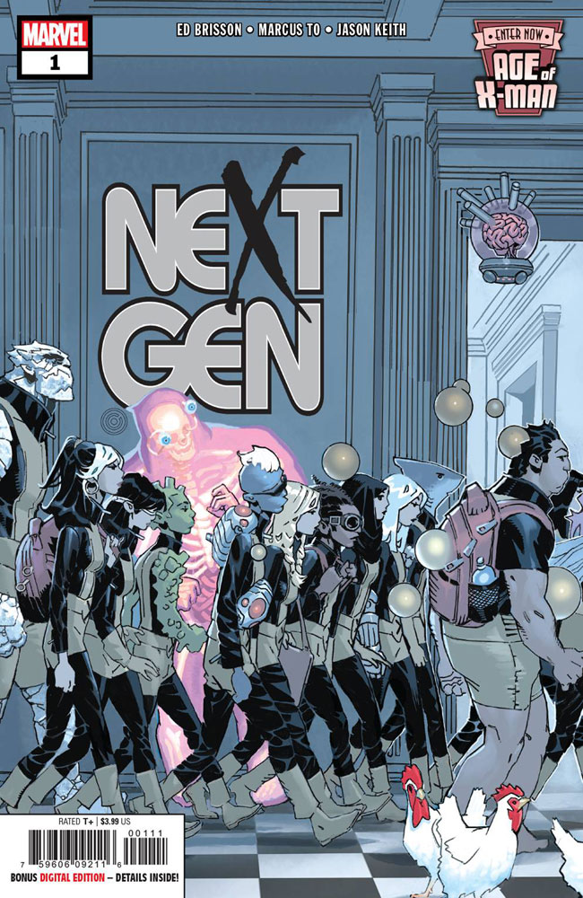 Image: Age of X-Man: Nextgen #1 - Marvel Comics