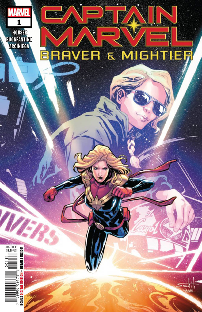 Captain Marvel: Braver & Mightier