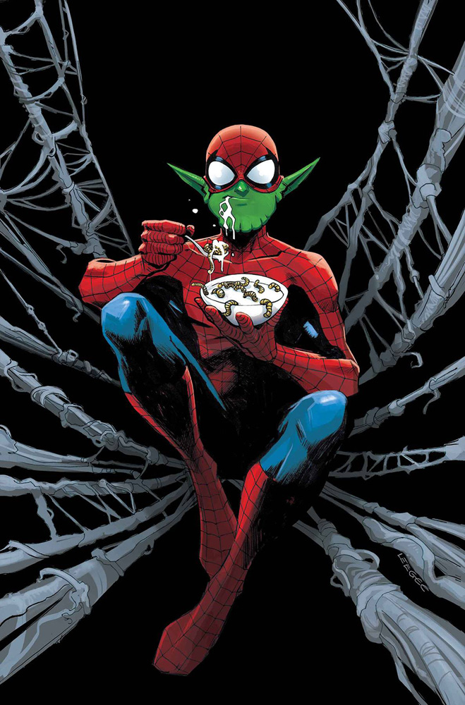 Image: Amazing Spider-Man #15 (variant Skrulls cover - Garbett)  [2019] - Marvel Comics