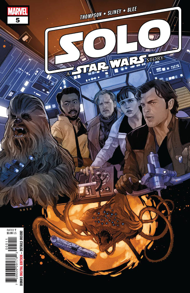 Image: Solo: A Star Wars Story Adaptation #5 - Marvel Comics