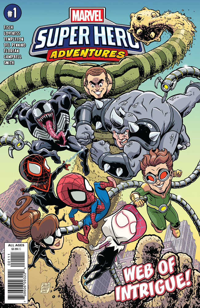 Image: Marvel Super Hero Adventures: Spider-Man - Web of Intrigue #1  [2019] - Marvel Comics