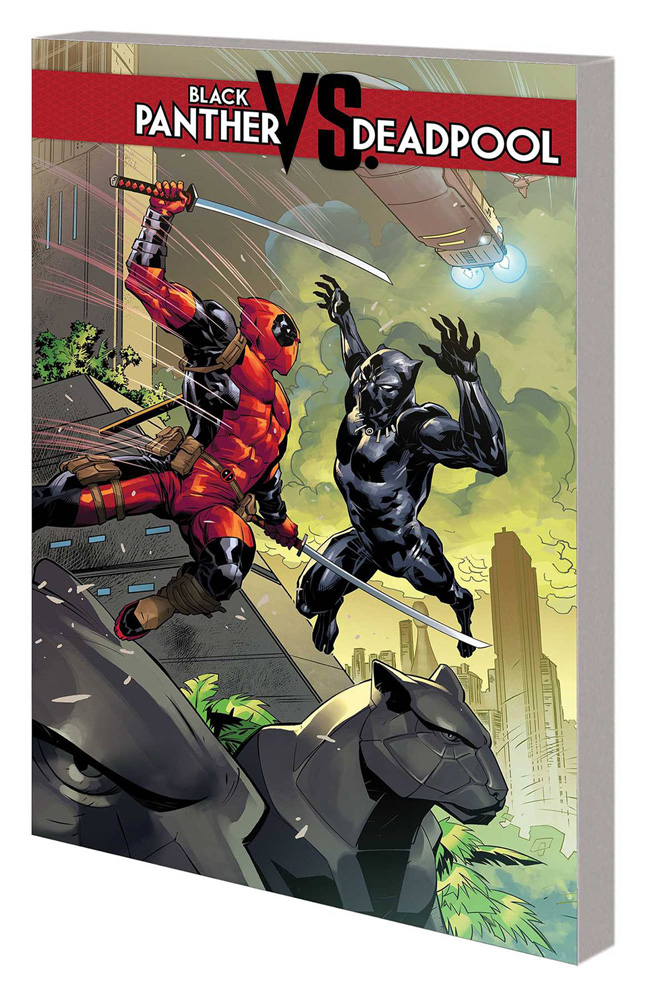 Image: Black Panther vs. Deadpool SC  - Marvel Comics