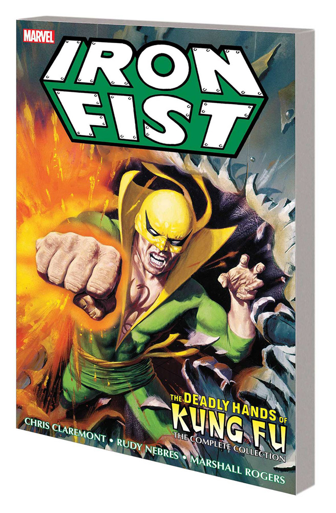 Image: Iron Fist: Deadly Hands of Kung Fu - The Complete Collection SC  - Marvel Comics