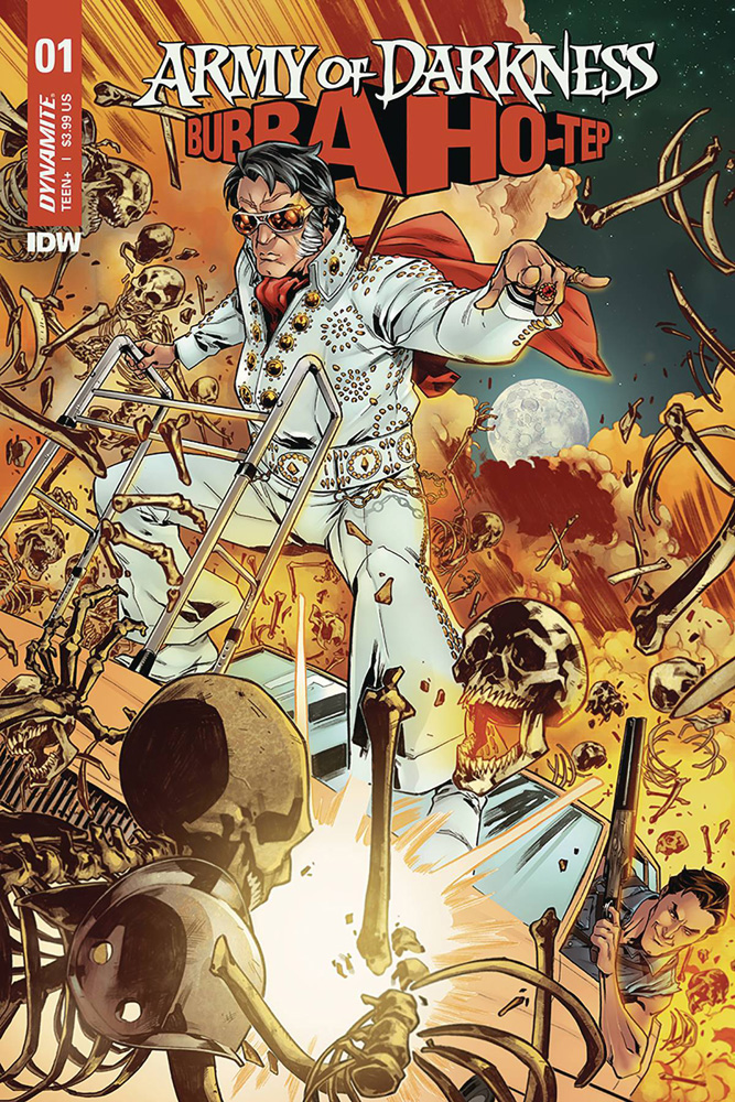 Image: Army of Darkness / Bubba Ho-Tep #1 (cover A - Gomez) - Dynamite