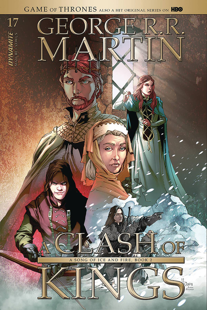 Image: Game of Thrones: Clash of Kings #18 (cover B - Rubi) - Dynamite
