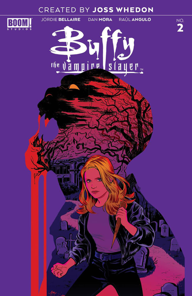 Image: Buffy the Vampire Slayer #2 (incentive cover - Mok) (25-copy)  [2019] - Boom! Studios