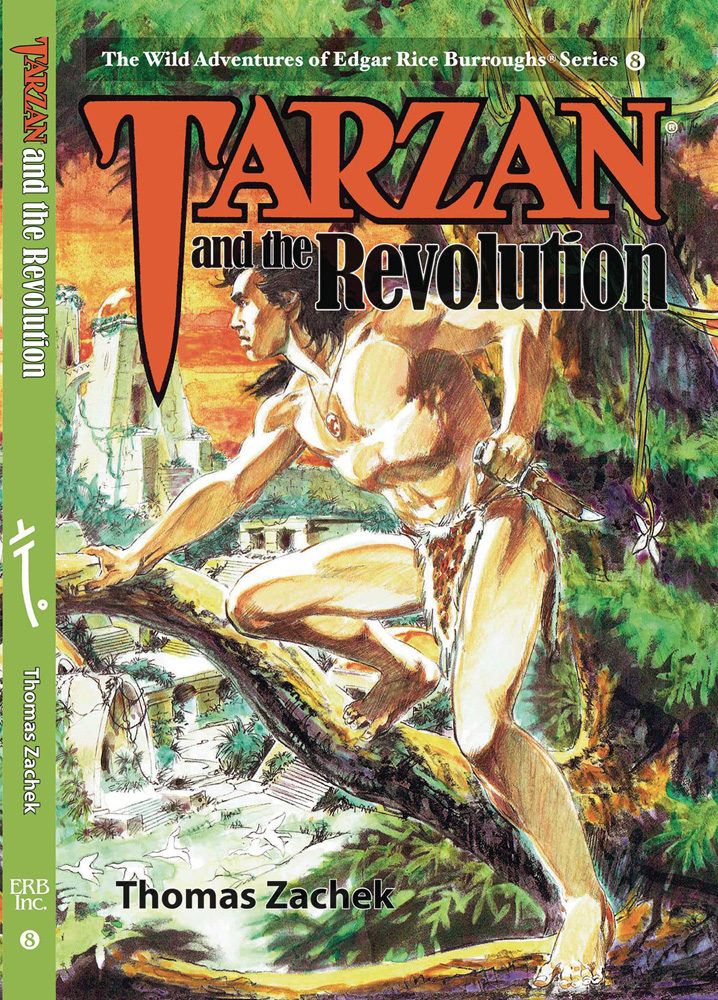 Image: Wild Adventures of Edgar Rice Burroughs Vol. 08: Tarzan and the Revolution SC  - Edgar Rice Burroughs, Inc