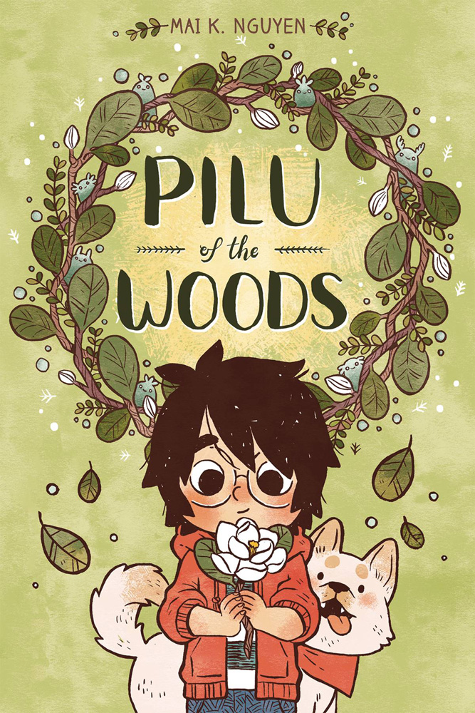 Image: Pilu of the Woods SC  - Oni Press Inc.