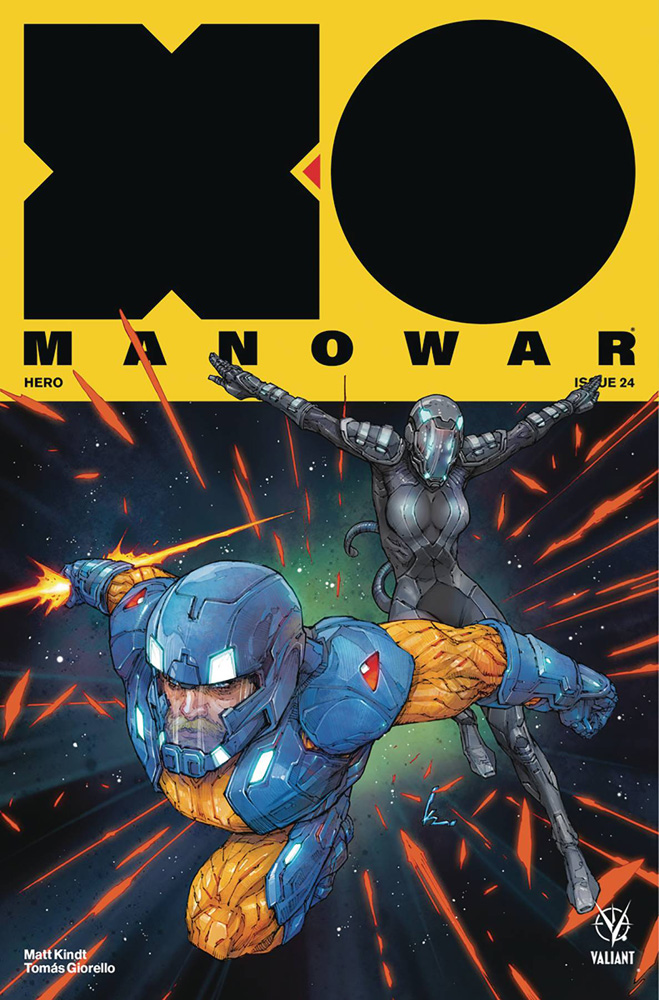 Image: X-O Manowar [2017] #24 (cover A - Rocafort)  [2019] - Valiant Entertainment LLC