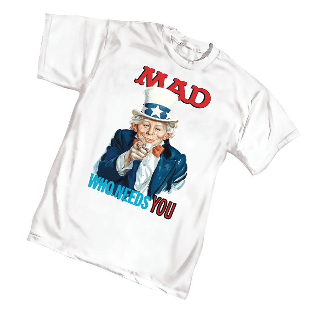 Image: Mad Needs You T-Shirt  (XL) - Graphitti Designs