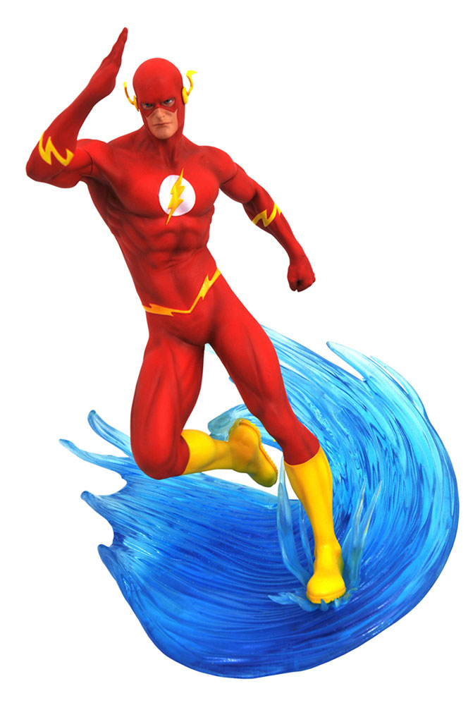 DC Gallery PVC Diorama: The Flash  - Diamond Select Toys LLC