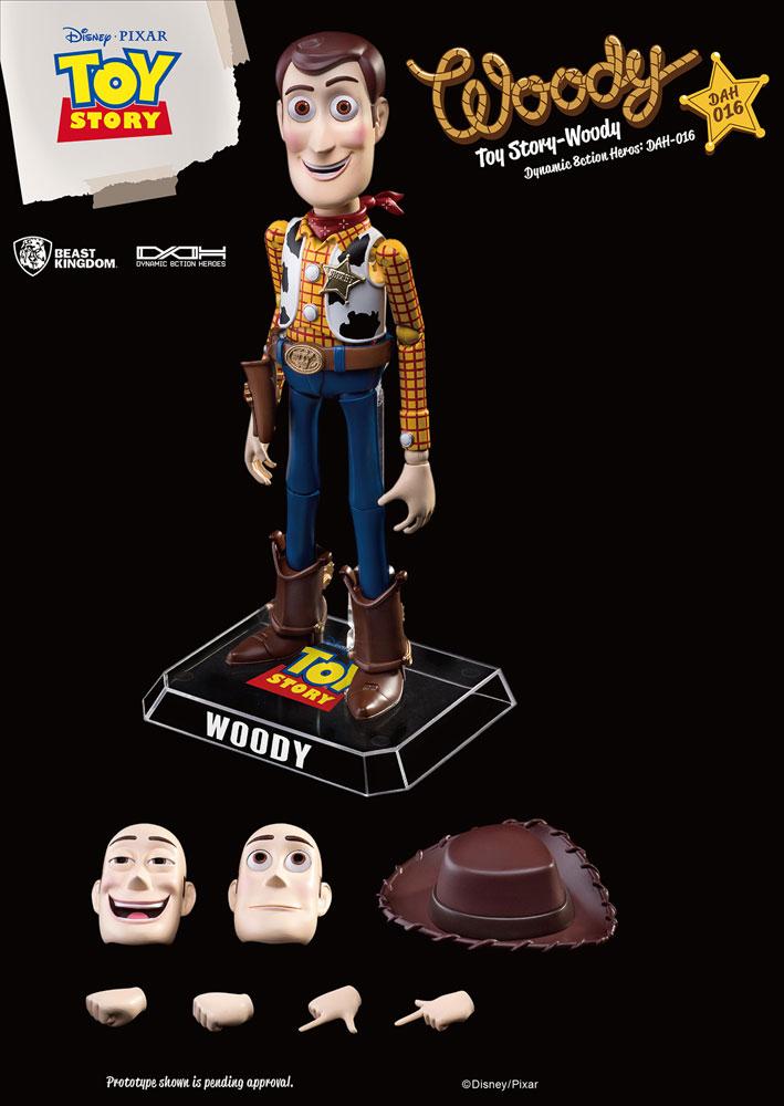 Toy Story Dynamic 8ction Heroes Action Figure: Woody  (DAH-16) - Beast Kingdom