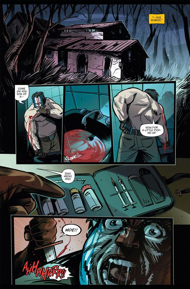On the Stump #1 (cover B - Greene) - Image Comics