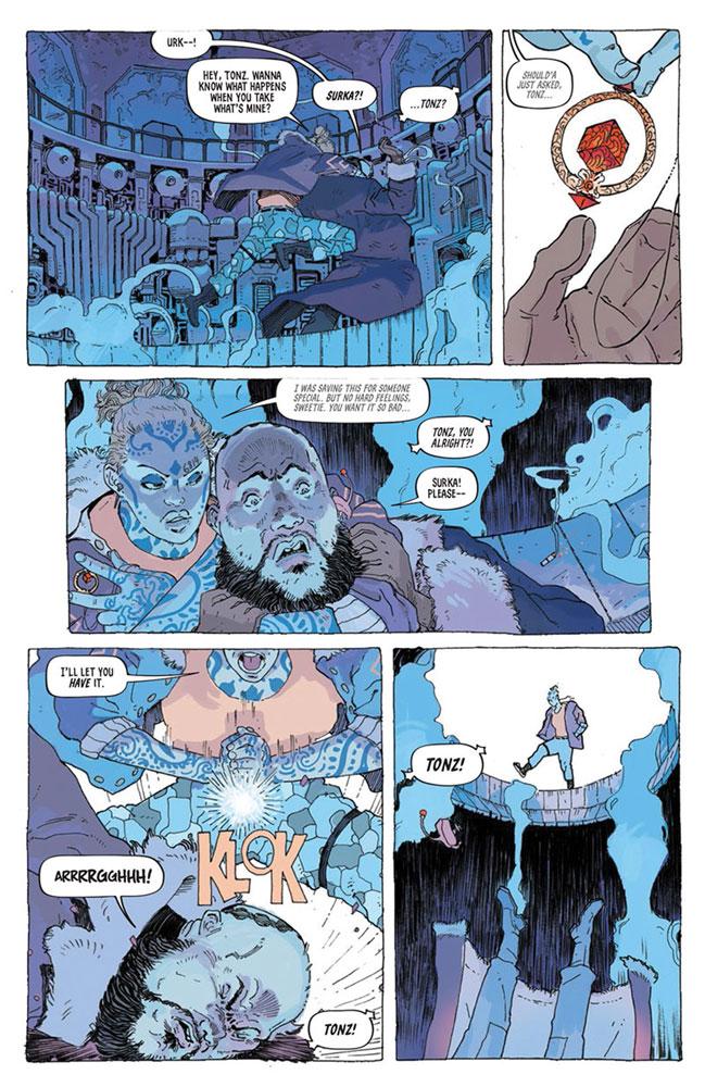 Tartarus #1 (cover B - Christmas) - Image Comics