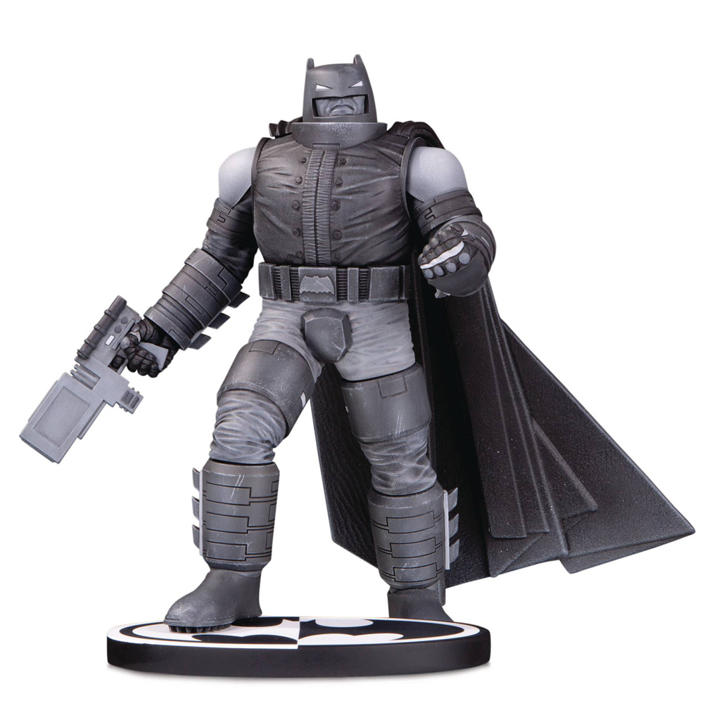 Image: Batman Black & White Statue: Armored Batman by Frank Miller  - DC Comics