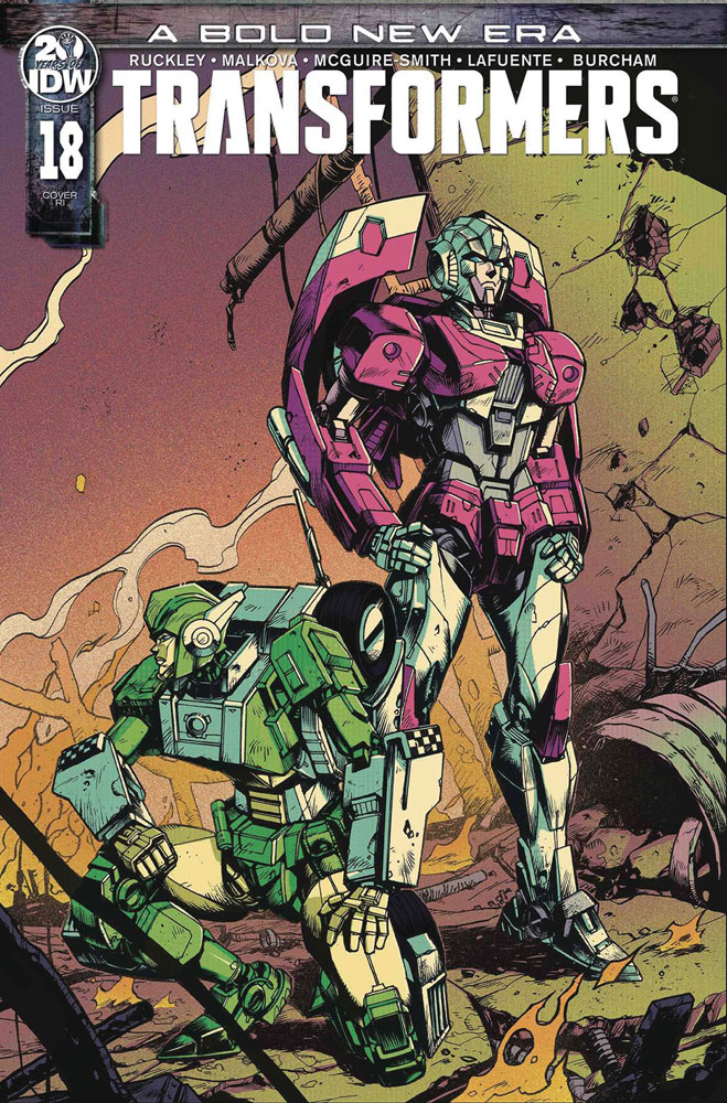 Image: Transformers #18 (incentive 1:10 cover - Zama) - IDW Publishing