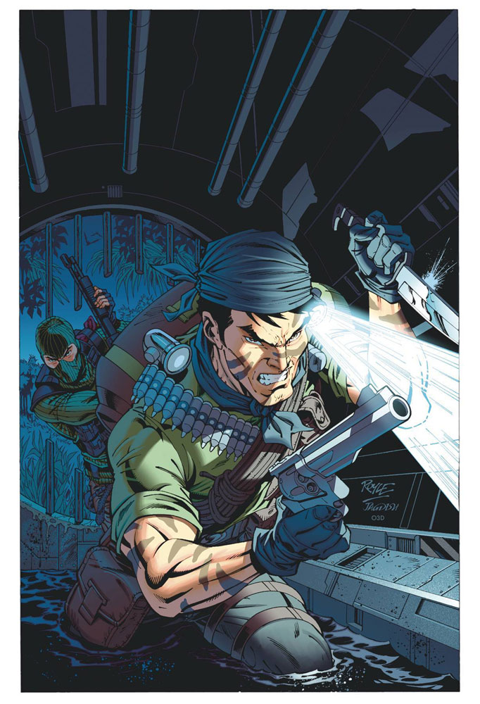 Image: G.I. Joe: A Real American Hero #273 (incentive 1:10 cover - Royle) - IDW Publishing