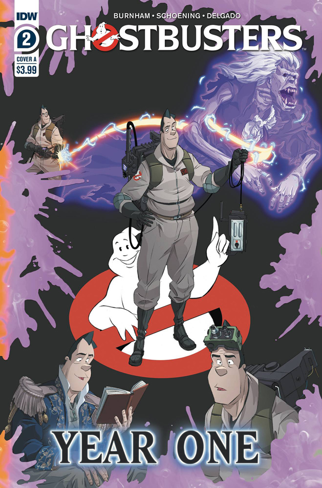 Image: Ghostbusters: Year One #2 (cover A) - IDW Publishing