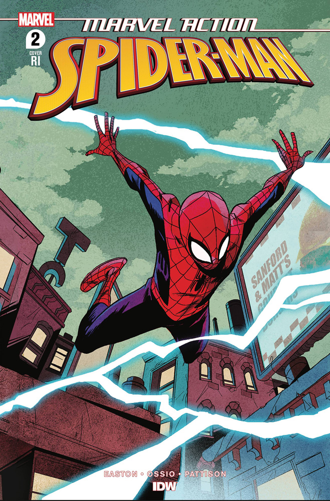 Image: Marvel Action: Spider-Man Vol. 02 #2 (incentive 1:10 cover - Greene) - IDW Publishing