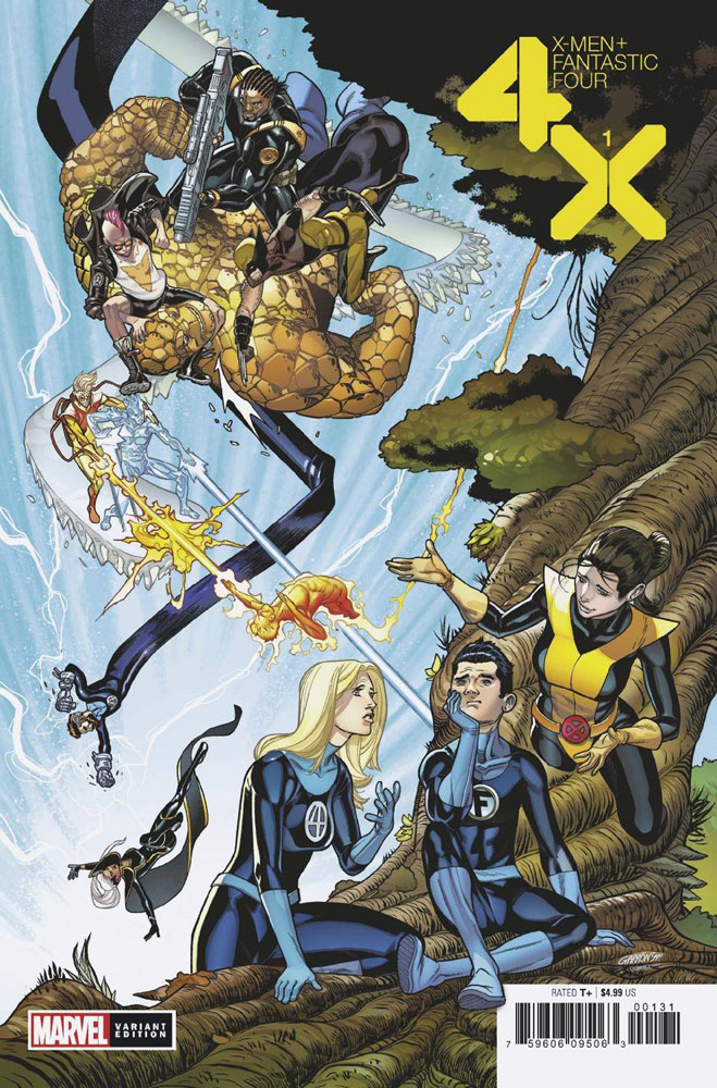Image: X-Men / Fantastic Four #1 (incentive 1:50 cover - Artist) - Marvel Comics