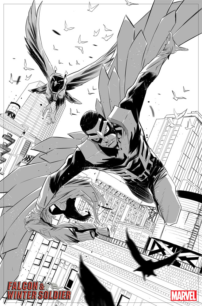 Falcon & Winter Soldier #1 - Marvel Comics