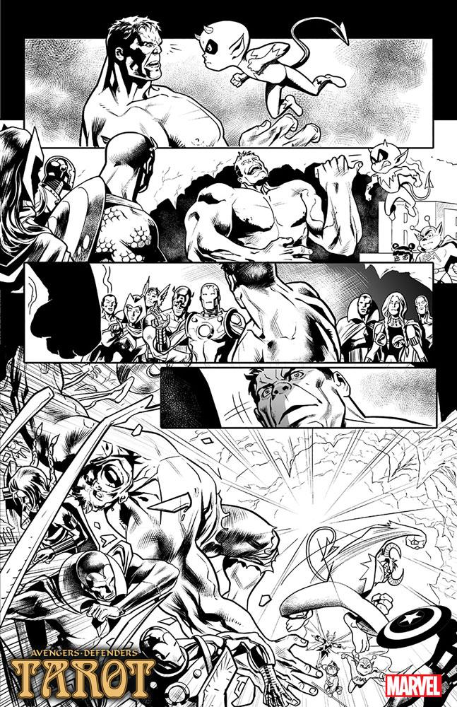 Tarot #3 (variant cover - Davis) - Marvel Comics