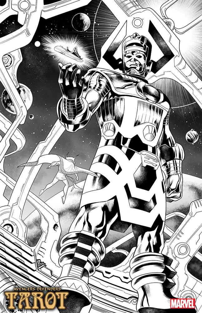 Tarot #3 (incentive 1:50 cover - Nowlan) - Marvel Comics