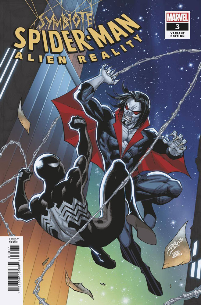 Image: Symbiote Spider-Man: Alien Reality #3 (variant cover - Ron Lim) - Marvel Comics