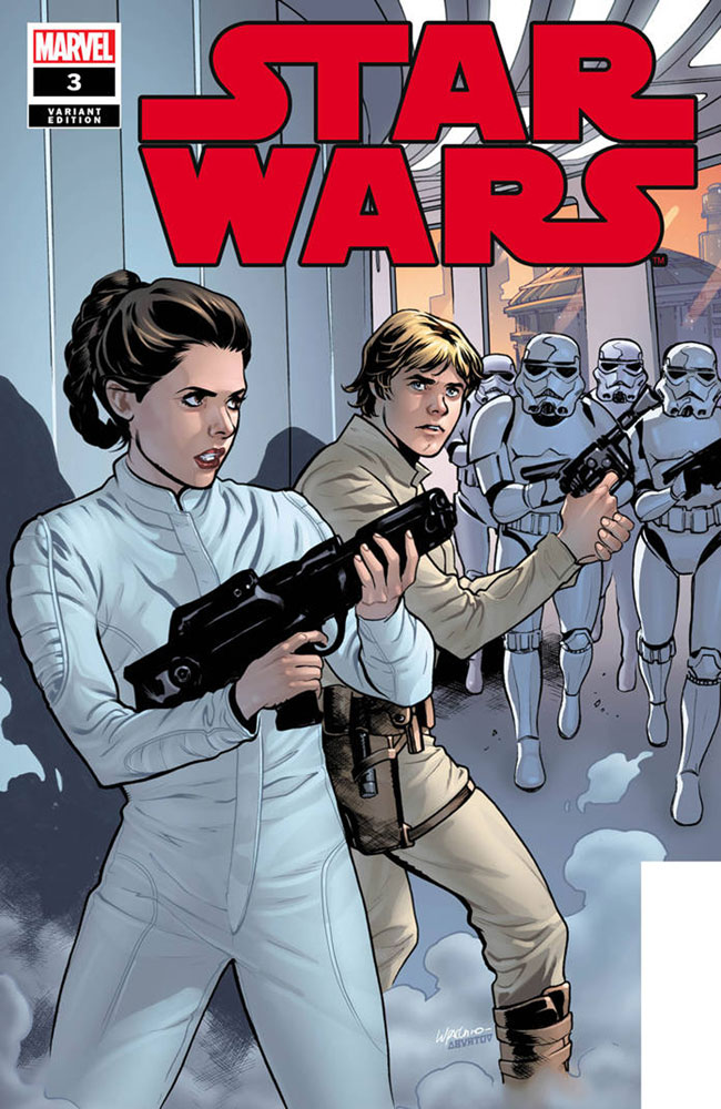 Image: Star Wars #3 (incentive 1:25 cover - Lupacchino)  [2020] - Marvel Comics