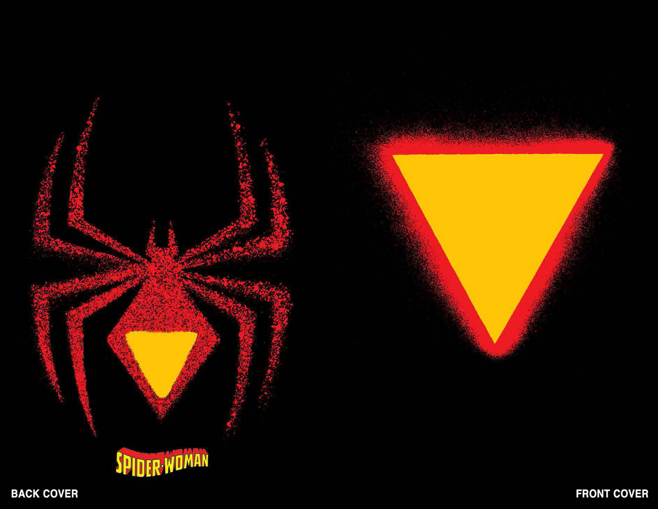 Image: Spider-Woman #1 (variant Die Cut cover - Chip Kidd) - Marvel Comics