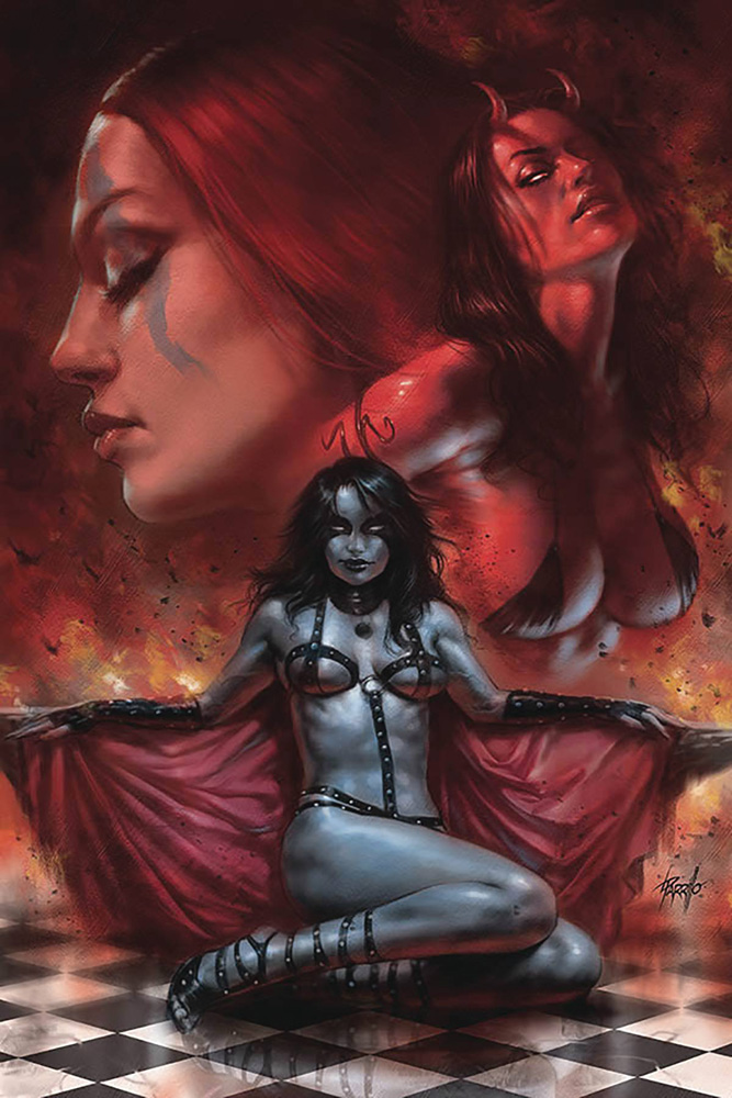 Image: Red Sonja: Age of Chaos #2 (variant cover - Parrillo virgin) - Dynamite