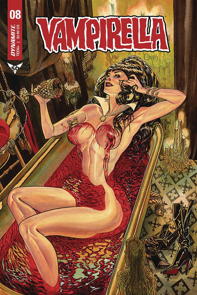 Image: Vampirella #8 (cover G - March) - Dynamite