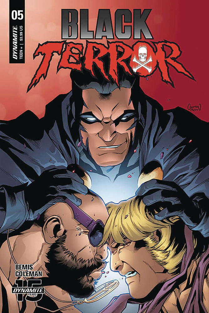 Image: Black Terror #5 (cover C - Coleman) - Dynamite