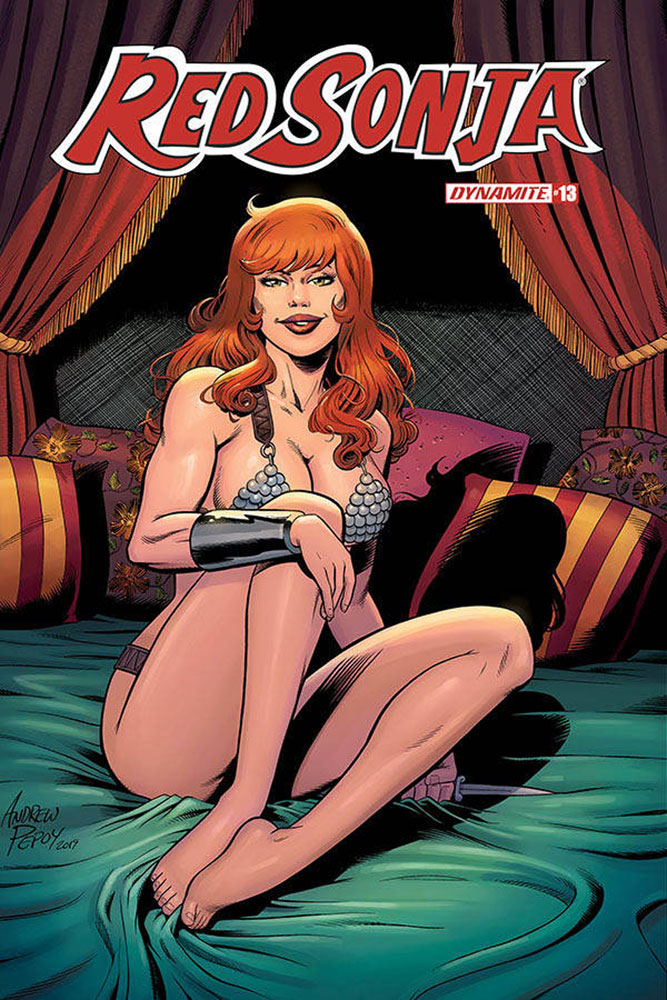 Image: Red Sonja Vol. 05 #13 (incentive 1:10 cover - Pepoy)  [2020] - Dynamite