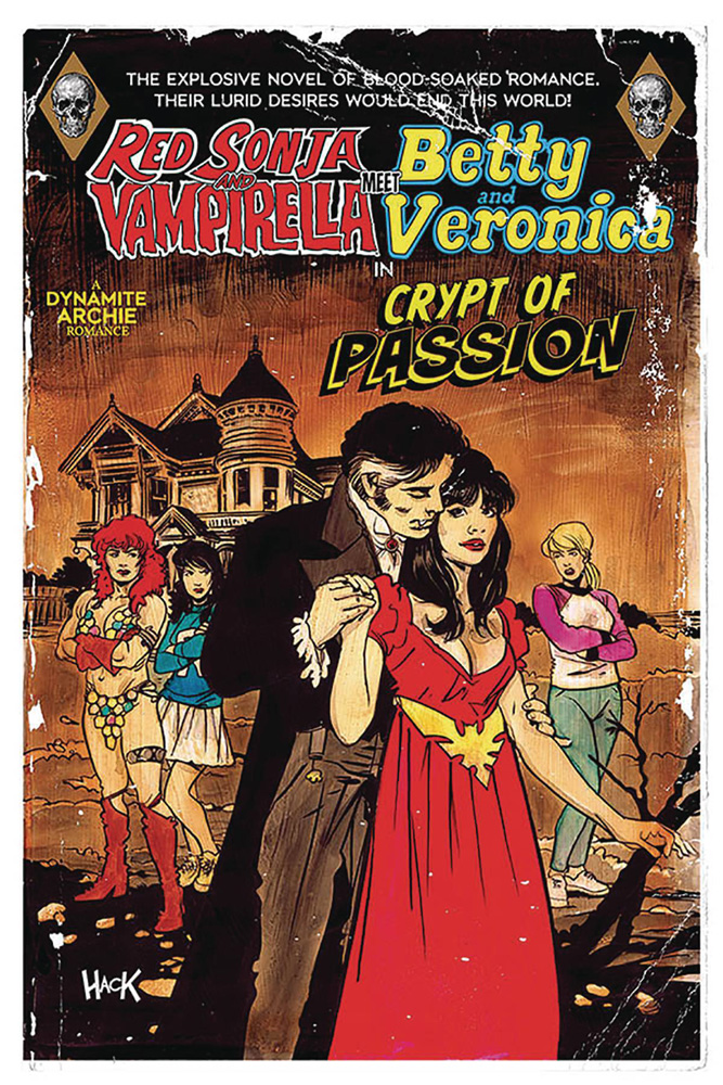 Image: Red Sonja and Vampirella Meet Betty and Veronica #9 (cover B - Hack) - Dynamite