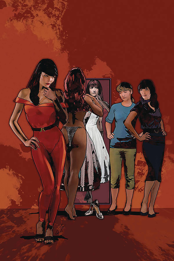 Image: Red Sonja and Vampirella Meet Betty and Veronica #9 (variant cover - Staggs virgin) - Dynamite