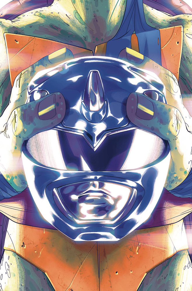 Image: Power Rangers / Teenage Mutant Ninja Turtles #3 (cover E - Montes) - Boom! Studios