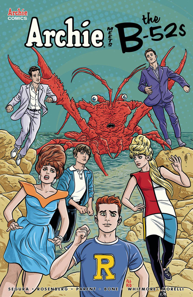 Archie Meets The B-52s #1 Michael & Laura Allred cover