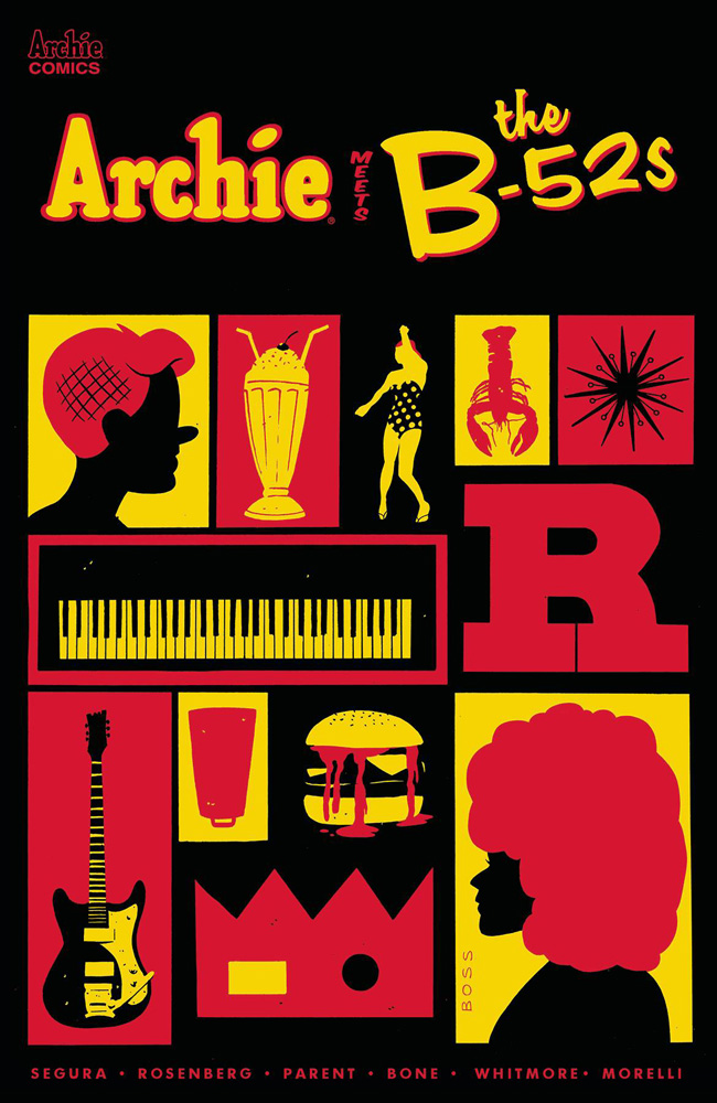 Archie Meets The B-52s #1 Tyler Boss cover