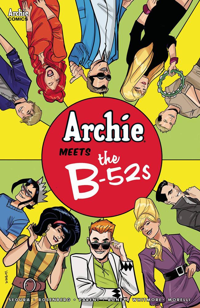 Archie Meets The B-52s #1 Joe Eisma cover