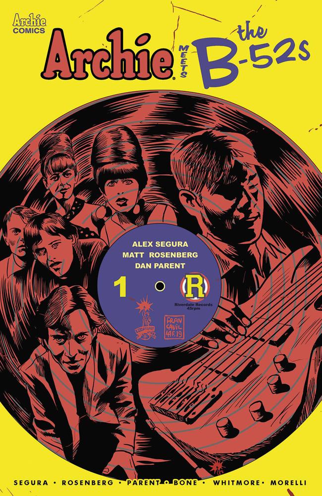 Archie Meets The B-52s #1 Francesco Francavilla cover