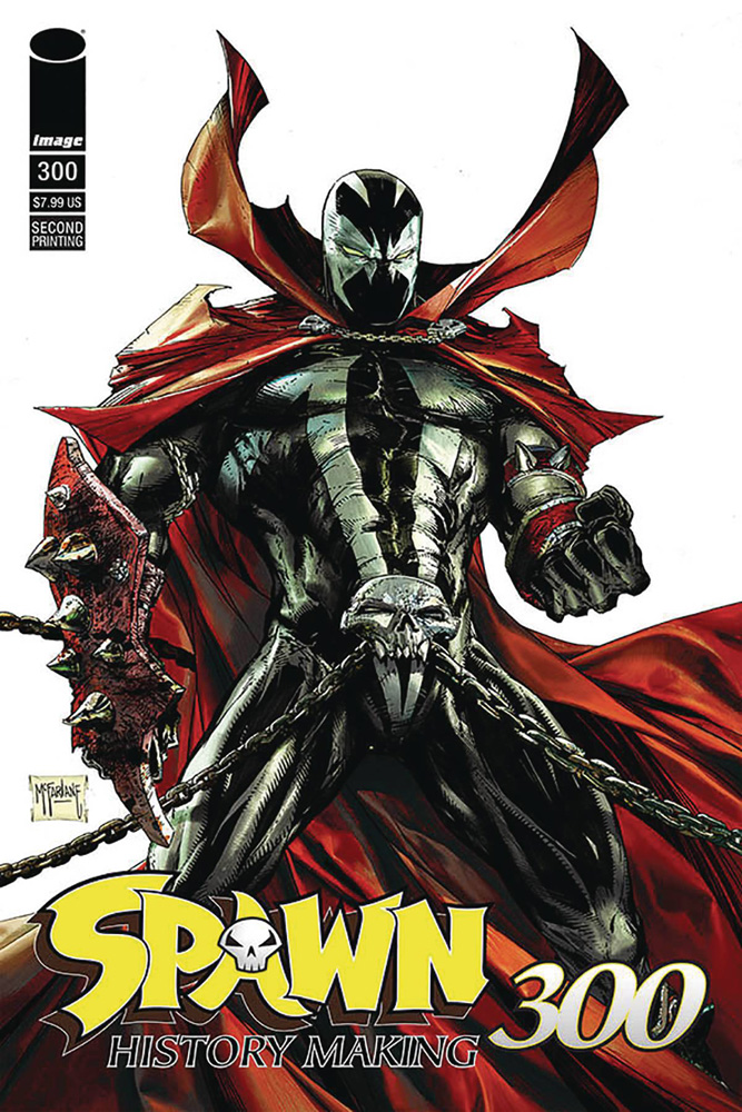 Image: Spawn #300 (variant encore edition) (DFE signed - Capullo) - Dynamic Forces